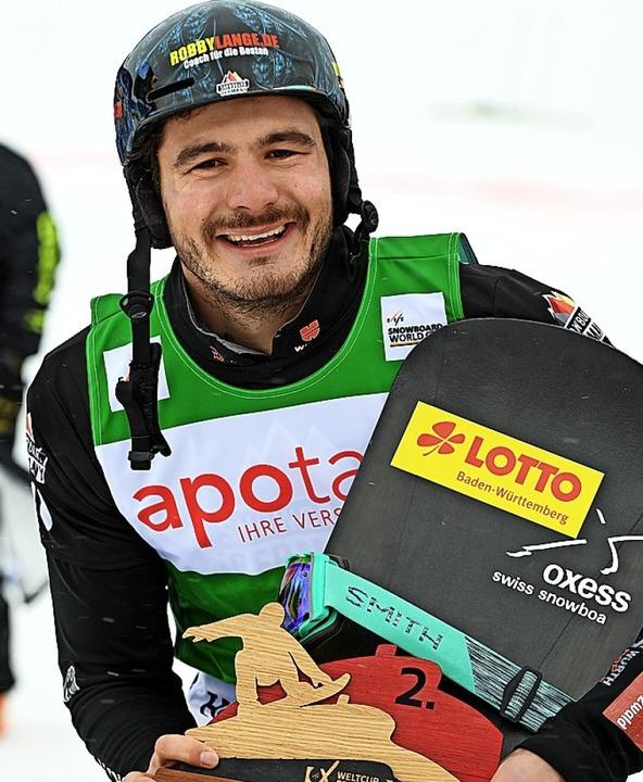 Souverän: Paul Berg fuhr beim Weltcup am Samstag auf Rang zwei.  | Foto: Wolfgang Scheu