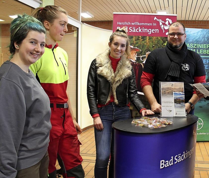 Die Stadt Bad Säckingen war zum ersten... Ausbildung zum  Jugendheim-Erzieher.   | Foto: Christiane Pfeifer