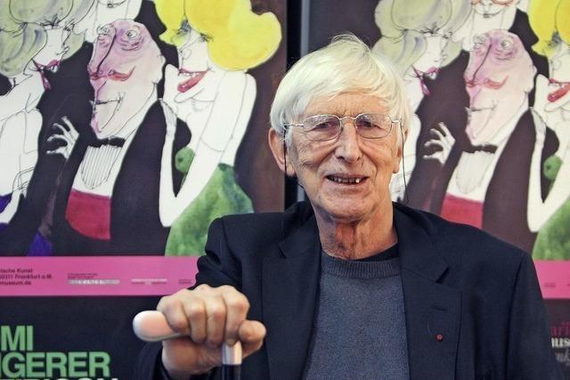 Der Zeichner Tomi Ungerer ist tot