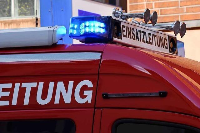 Sturmtief Uwe bescherte der Lörracher Feuerwehr etliche Einsätze