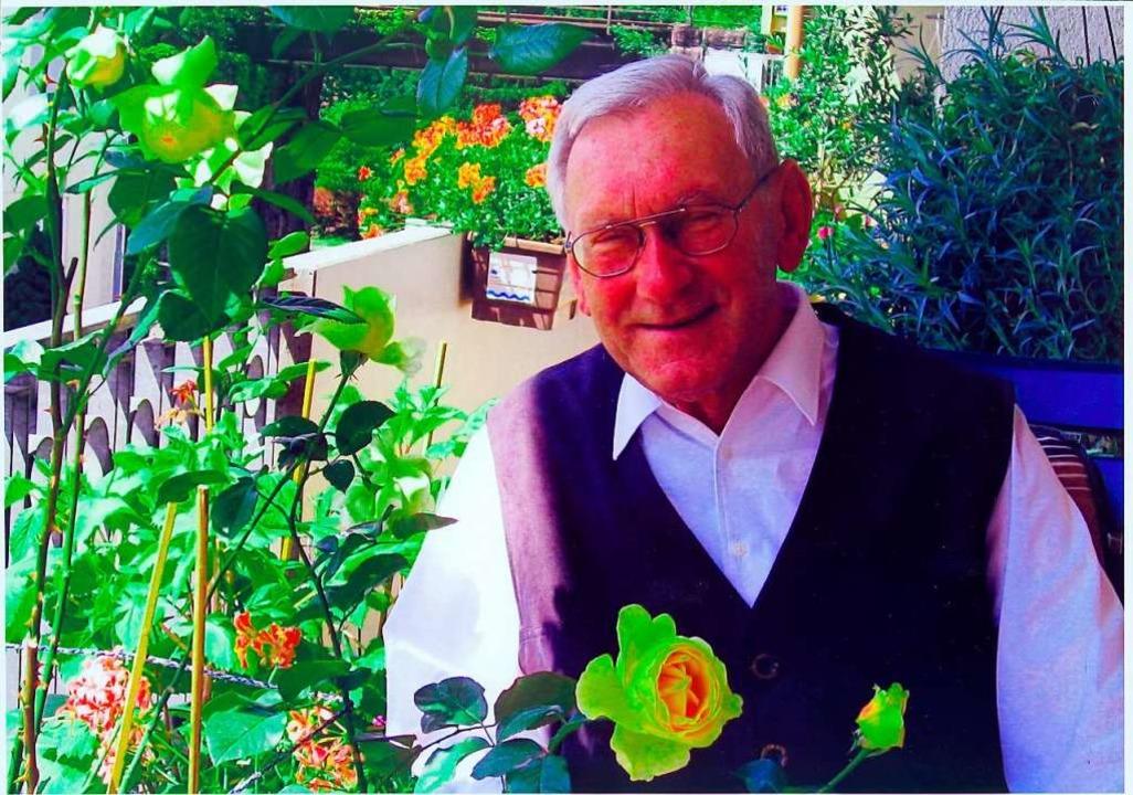 Wird vielen fehlen: Pfarrer Josef Zimmermann  | Foto: Hans Loritz (halo)