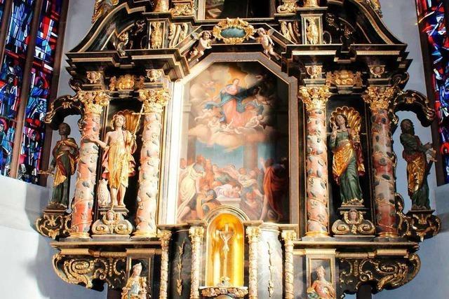Die Werke einer Bildhauerfamilie in Kirchzarten