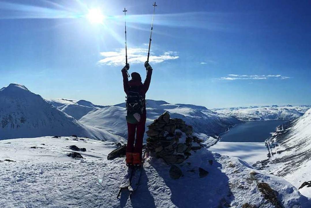 Besser als das Gefühl, den Gipfel erre...ist nur die Abfahrt im Pulverschnee.    | Foto: Markus Emerich