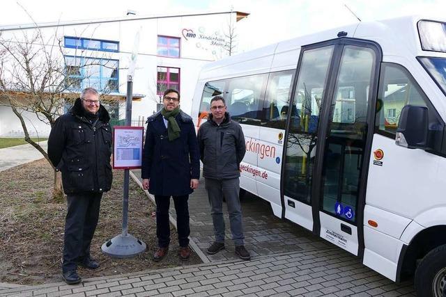 Zwei neue Haltestellen für den Bad Säckinger City-Bus