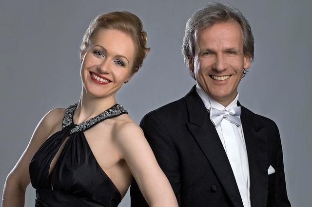 Sopranistin Eilika Wünsch und Pianist Bernhard Wünsch in Sulzburg-Laufen