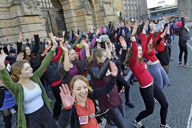 Tanzen gegen Gewalt mit One-Billion-Rising
