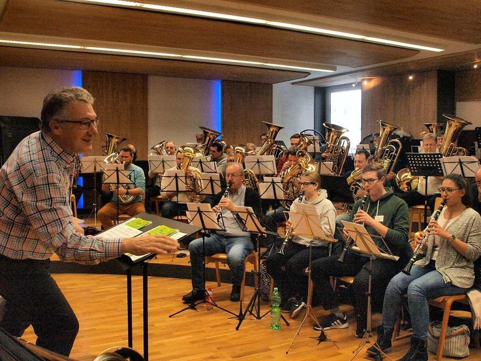 In einem Workshop brachte der Leiter d...ik dem Publikum optimal zu vermitteln.  | Foto: Karin Steinebrunner