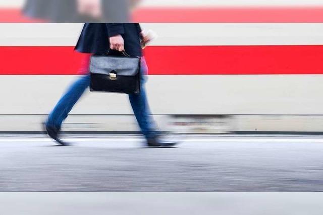 Zugverkehr wegen Gleisarbeiten bei Freiburg eingeschränkt
