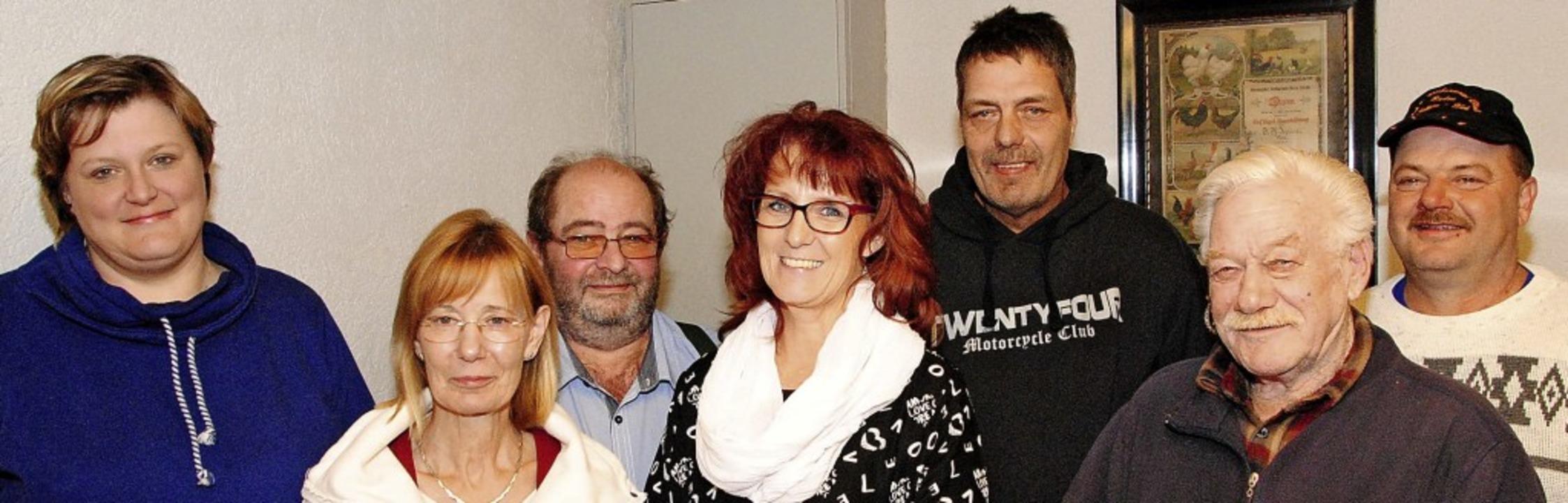 Die Vorstandschaft des Kleintierzuchtv... Wolfgang Kraus  und  Vincent Starck.   | Foto: Sedlak