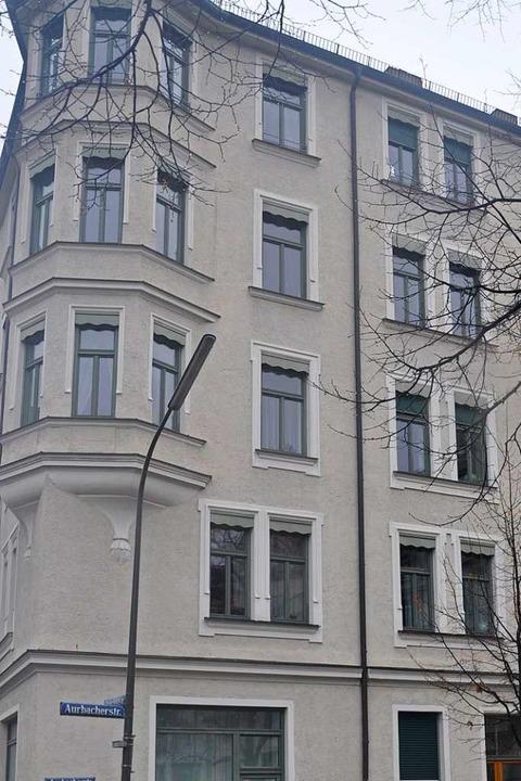Das Haus in der Aurbacherstraße.  | Foto: Patrick Guyton
