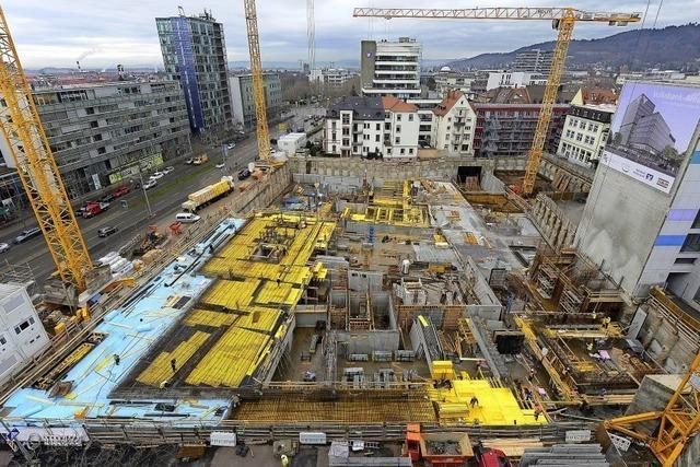 Neubau der Volksbank