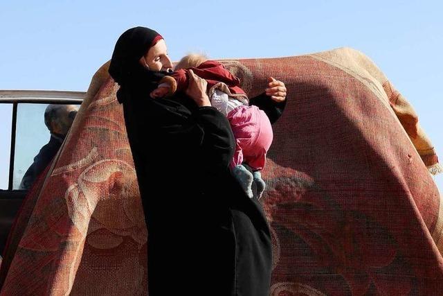Was geschieht mit den besiegten IS-Terroristen?