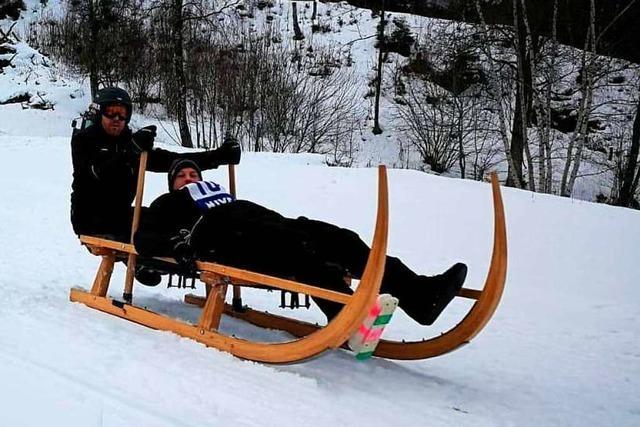 Die Elbenschwander Hornschlittenfreunde müssen ihr Rennen wohl absagen
