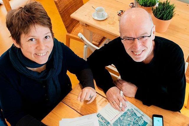 In Lörrach soll ein Stadtplan voller nachhaltiger und fairer Orte entstehen