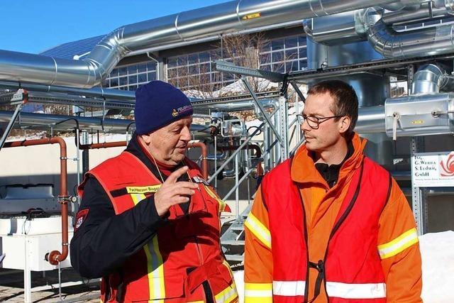 Warum die Feuerwehr im Kreis einen Experten für Biogas ernennt