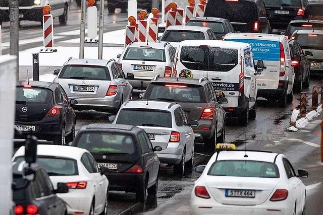 Stuttgarter Autofahrer standen vergangenes Jahr 108 Stunden im Stau