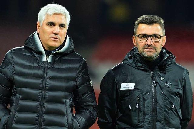 1. FC Nürnberg trennt sich von Sportvorstand Andreas Bornemann und Trainer Michael Köllner