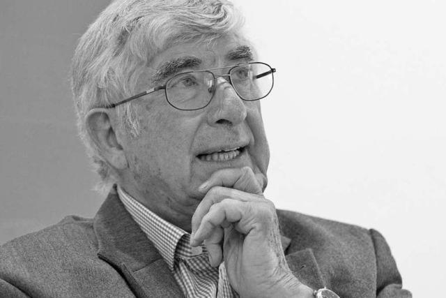 Freiburgs Alt-Oberbürgermeister Rolf Böhme ist tot
