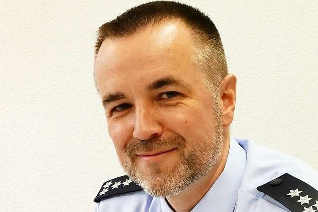 Der neue Leiter des Verkehrskommissariats Weil am Rhein hat viel zu tun