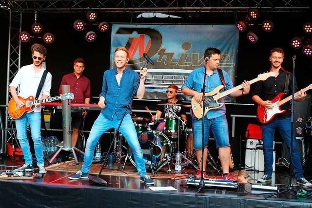 Die Band Drive In gibt in Kollnau ihr Abschiedskonzert