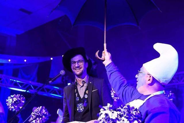 Erstmals ist Martin Horn Schirmherr über die Freiburger Narren