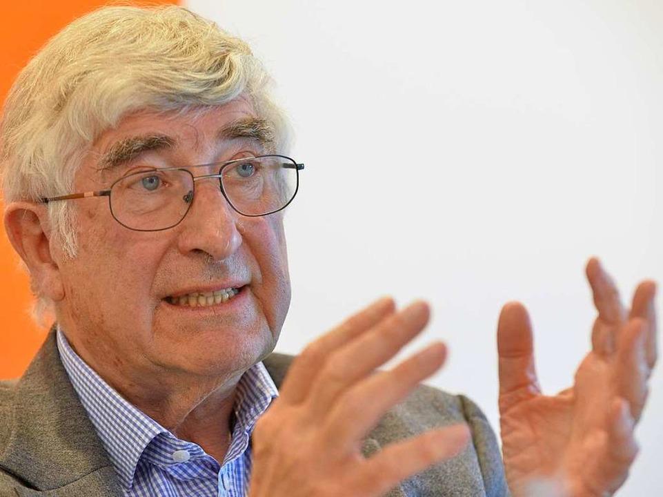 Rolf Böhme im BZ-Interview.    Foto: Michael Bamberger