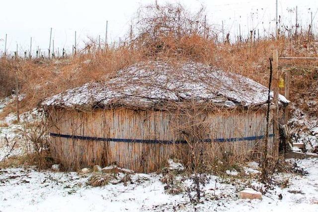 Schamanin aus Herbolzheim hat ihre Jurte jetzt abgerissen