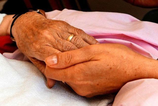Die Breisacher Hospizgruppe betreut Sterbende – und deren Angehörige
