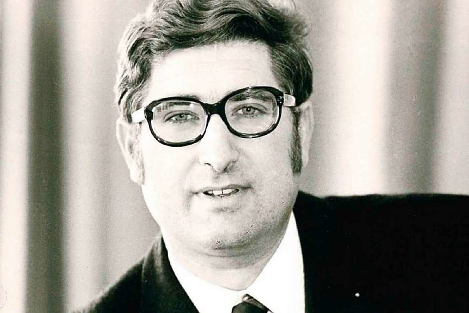Bevor er Freiburgs Oberbürgermeister wurde, war Böhme von 1972 bis 1982 Mitglied des Deutschen Bundestages. (Foto: BZ-Archiv)