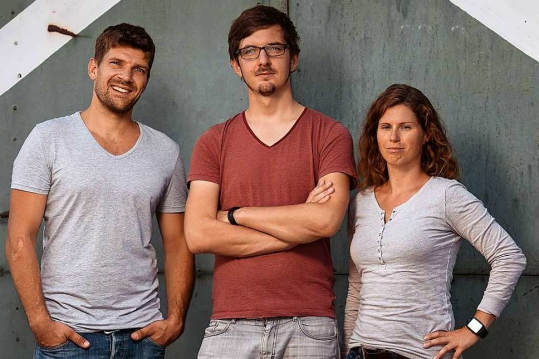 Die Wetell-Gründer (von links): Andrea...ucker, Nico Tucher und Alma Spribille.  | Foto: Wetell/Florian Forsbach