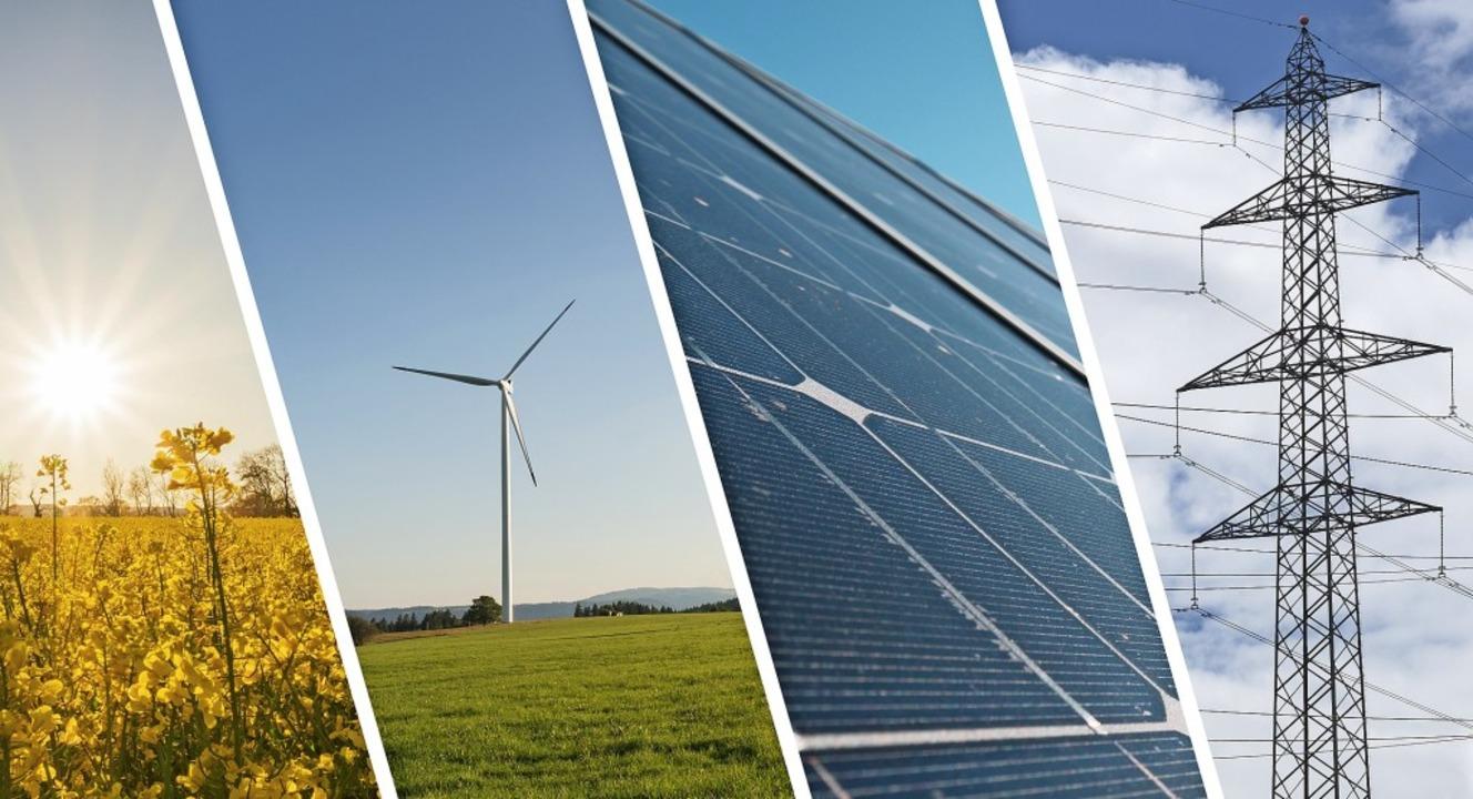 Erneuerbare Energien sollen zum zentra...estandteil des Green New Deals werden.  | Foto: Stock.Adobe