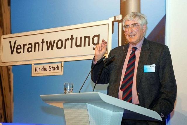 Klein-Europa in Freiburg: Rolf Böhme sieht die Chancen der Region