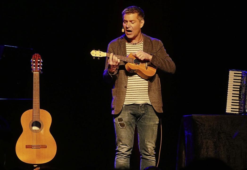 Multitalent und Multiinstrumentalist: Markus Kapp   | Foto: Tilmann Krieg