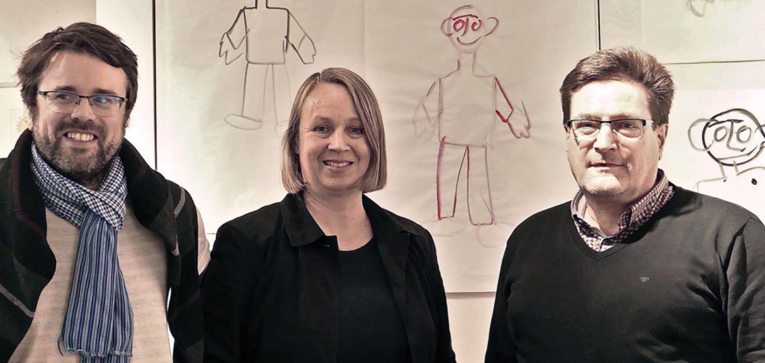 Die neuen Gesichter im Vorstand, Jean-...  des Hebelbundes,  Volker Habermaier.  | Foto: Martina David-Wenk