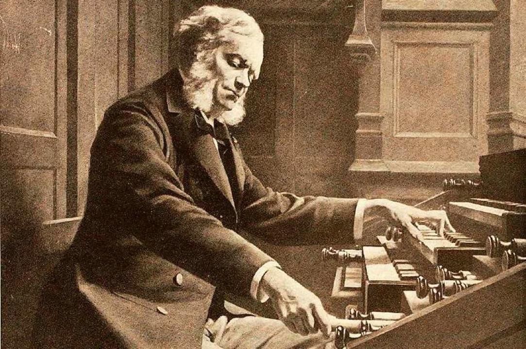 Komponist und Organist: César Franck – hier an der Orgel  | Foto: Pro