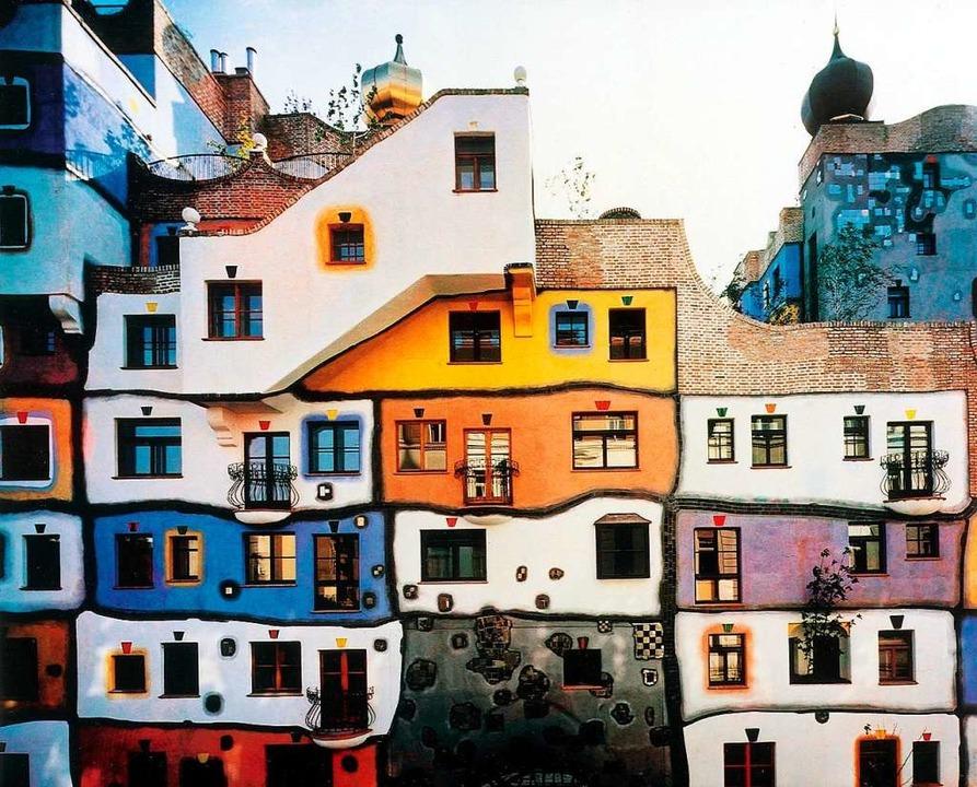Das Hundertwasser-Haus in Wien.  | Foto: arte / dpa
