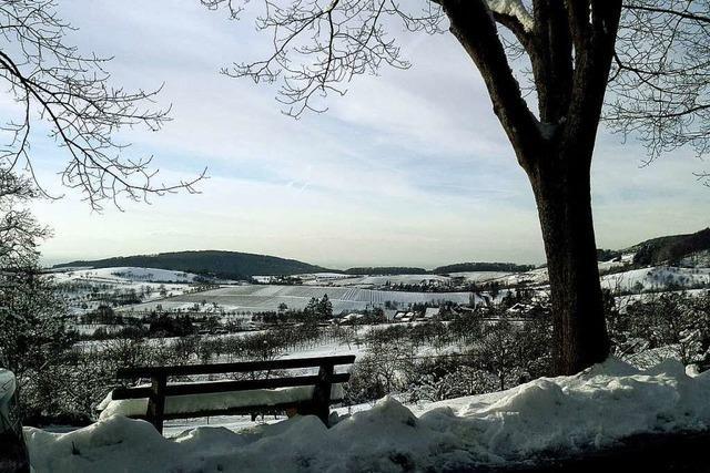 Winterliche Idylle im Eggener Tal