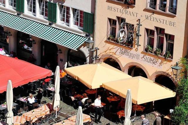 Am Sonntag schließt das Heiliggeist-Stüble am Freiburger Münsterplatz