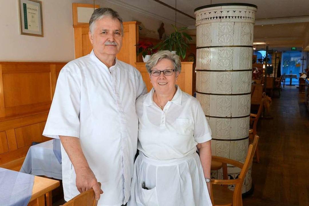 Hans und Angela Stengele  | Foto: Ingo Schneider