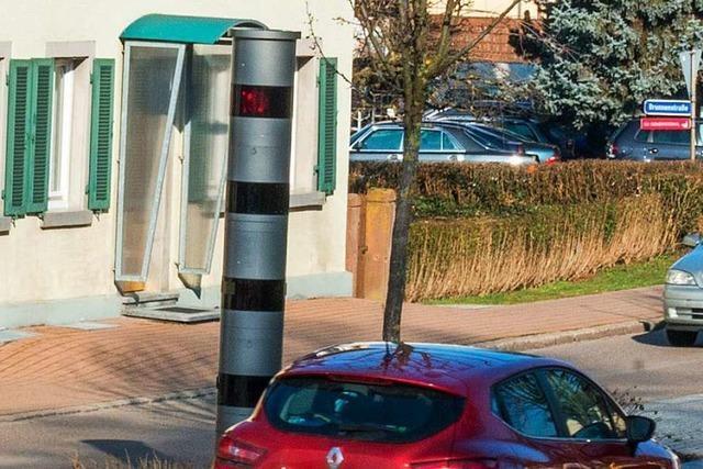 Wenn es in Kippenheim blitzt, kassiert Lahr – und der Hersteller des Blitzers