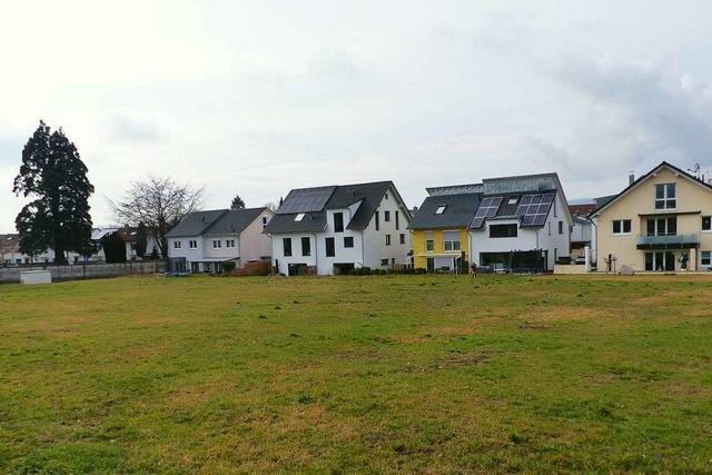 Im Neubaugebiet Kapellenweg sollen Spiel- und Sportplätze entstehen