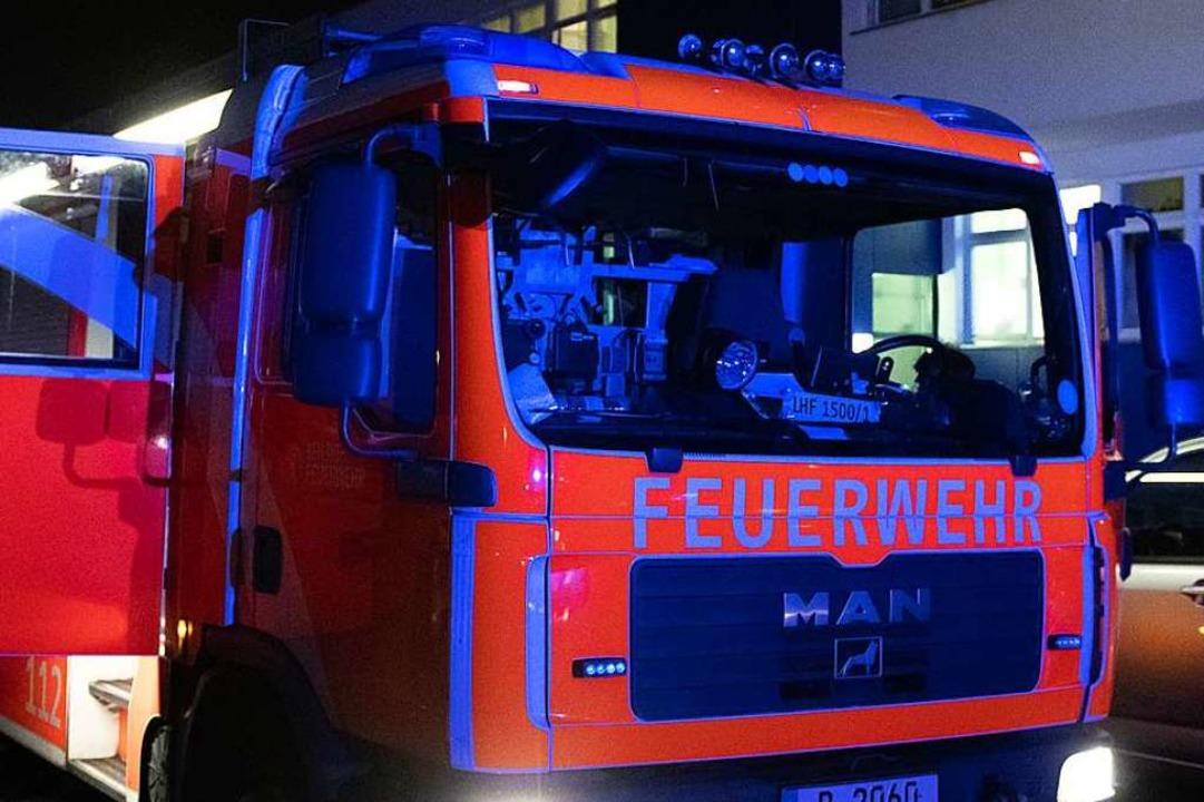 Nicht immer werden Feuerwehrkräfte tat...211; so zuletzt in March (Symbolfoto).  | Foto: dpa