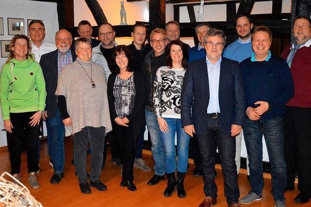 Das sind die Kandidaten der Freien Wähler in Gundelfingen