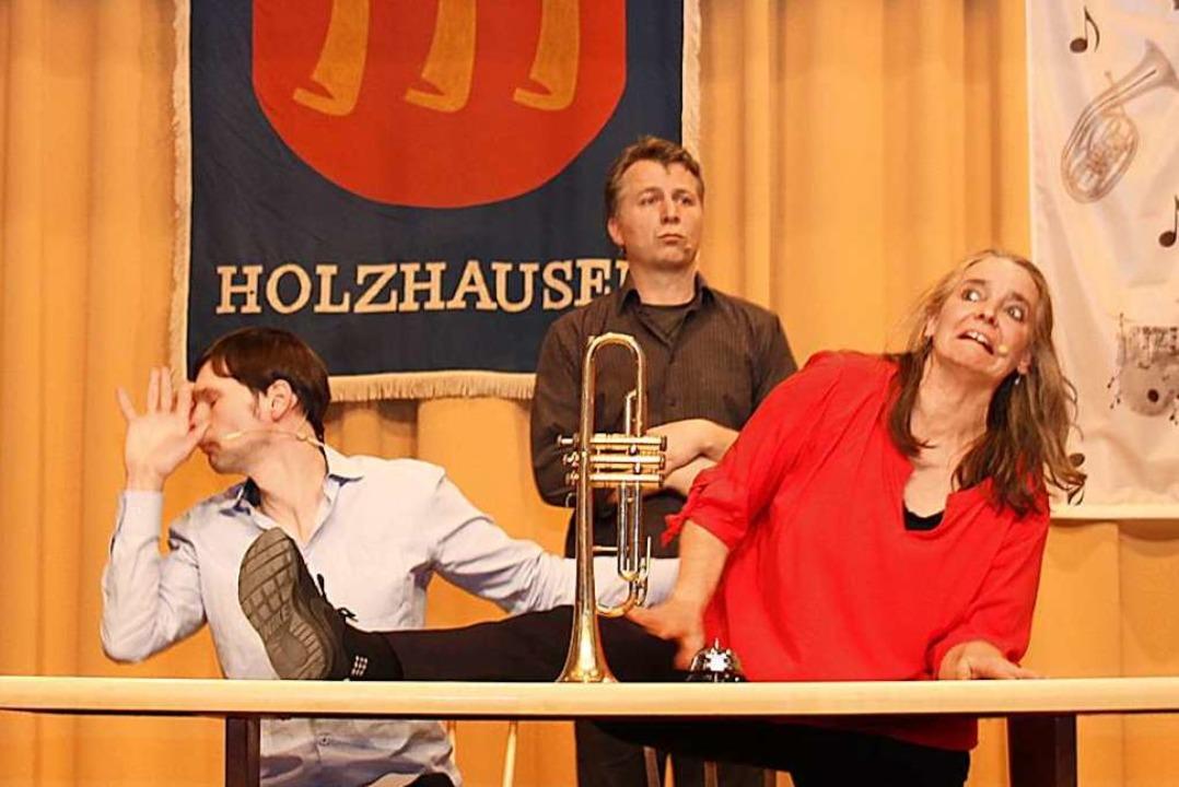 Mit dabei war das Impro-Theater Lust    Foto: Mario Schöneberg