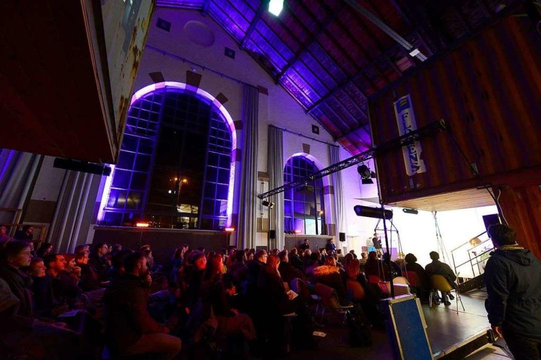 Die fünfte Social Innovation Night in der Lokhalle Freiburg  | Foto: Ingo Schneider