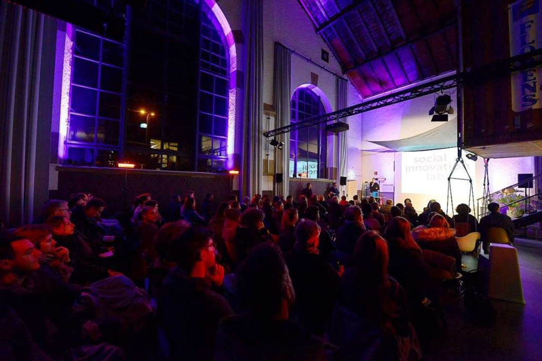 Etwa 100 Zuschauerinnen und Zuschauer waren dabei.  | Foto: Ingo Schneider