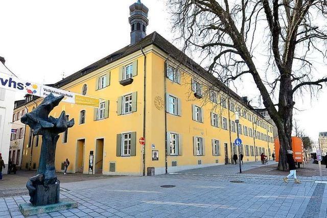 Wie die Freiburger Volkshochschule einst ihren Lehrbetrieb aufgenommen