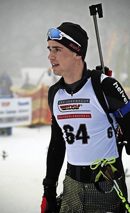 Vierter und Elfter beim olympischen EU...ival: der Bonndorfer Christian Krasman  | Foto: J. Ruoff