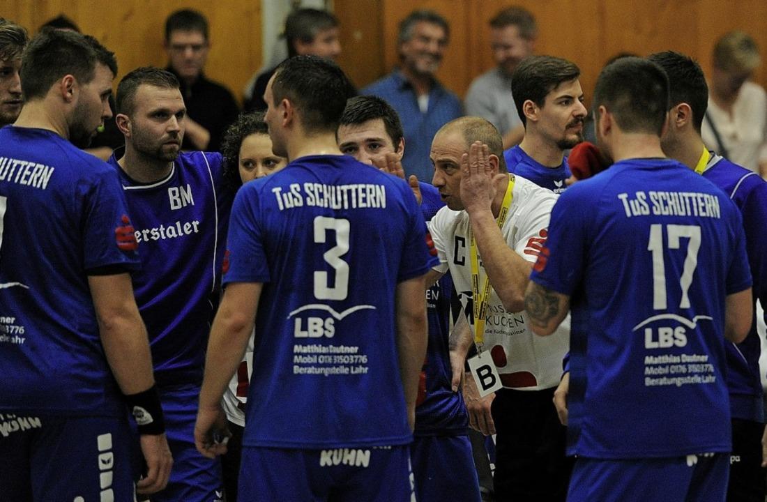 <BZ-FotoAnlauf>Landesliga Nord:  </BZ-...TuS Schuttern endlich wieder punkten.   | Foto:  Pressebüro Schaller