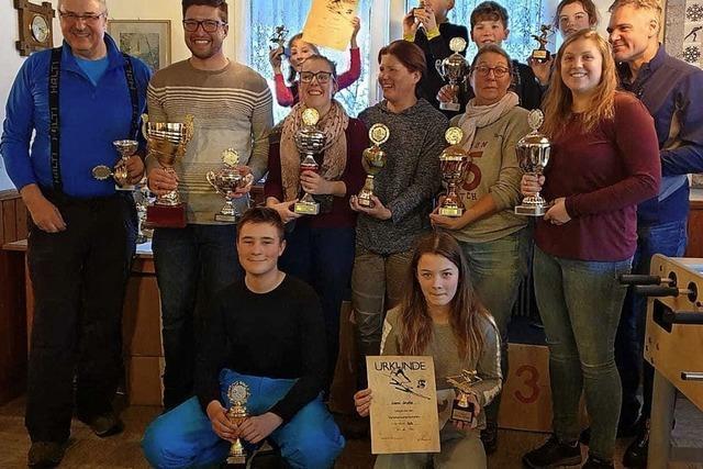 Skiclub ermittelt die Vereinsmeister